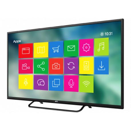 6e446ebe7454b Televisor LED Smart TV de 32 MARCA JVC SMART TV Conexión a Internet wifi  Sistema Operativo Android Versión 4.41GB de Memoria RAMA almacenamiento ...
